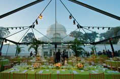 Conservatory of Flowers.  Lighting design by Got Light.
