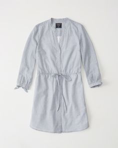 Womens Oxford Shirtdress | Womens Dresses & Rompers | Abercrombie.com