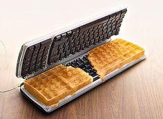 QWERTY waffles anyone?