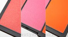 Sleek cosmetics 'Pumpkin' blush by three palette. Bright fun makeup! http://beautysbadhabitblog.blogspot.co.uk/2012/03/review-sleek-pumpkin-blush-by-three.html