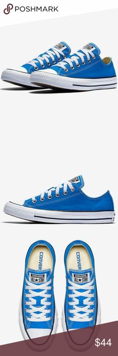 Sz 6 Blue Canvas Chuck Taylor All Star Sneakers Condition  Brand new with  lidless box fac89246bd351