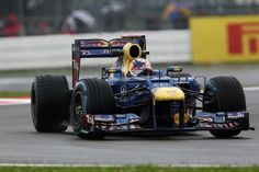Red Bull  British GP, Silverstone Circuit - Qualifying. July, 2012