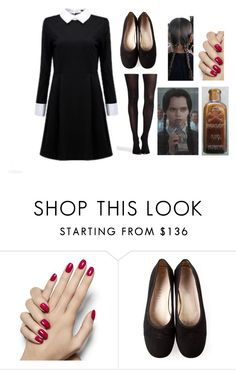 """Simple Wednesday Addams Costume"" by originalmrsmalfoy1 ❤ liked on Polyvore featuring Chanel and SPANX"