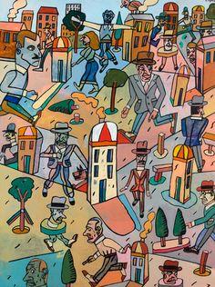 antonio-segui, peinture-narrative, artcurial, auction, 2015…