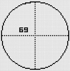 how to draw a circle in minecraft