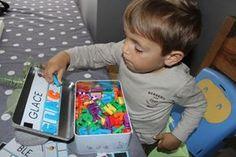 [DIY] The alphabet box - Preschool Activities Montessori Activities, Infant Activities, Educational Activities, Educational Technology, Activities For Kids, Alphabet, Autism Education, Baby Kind, Home Schooling