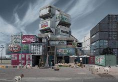 Imagining Architecture's Dystopian, Corrugated-Steel Future - Curbedclockmenumore-arrow :