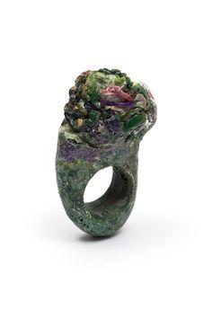 ANILLO (ring),plastico reciclado