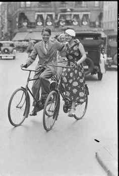 Iconic Images: Men and Women on Bicycles | MRK Style