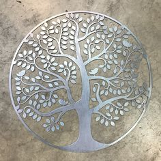 Black Oxide, Metal Tree, Rings For Girls, Blue Grey, Gray, Paint Finishes, Cool Walls, Tree Of Life, Metal Wall Art
