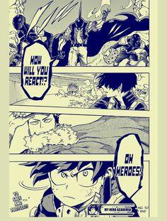 Boku no Hero Academia Manga. #36