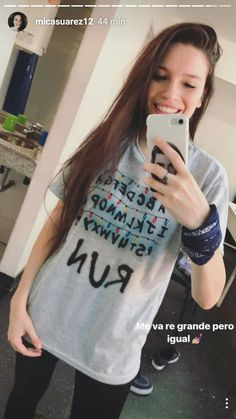 Mica Suárez My Crush, Girl Crushes, Youtubers, Boy Or Girl, T Shirts For Women, Celebrities, Ideas, Fashion, Cute Guys