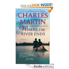 Charles Martin is the author of WHERE THE RIVER ENDS. I cannot say enough times how incredible this man is. If you love a story that has no need to be off color or outrageous or filthy dirty, but will grip your heart from beginning to end, then you need to discover Charles Martin. There are a bunch of these books, so get ready for your reads!