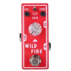 Tone City Wild Fire Distortion Pedal | Andertons