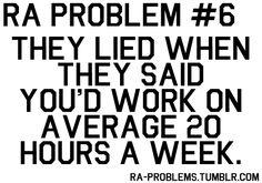 RA/RPA Problem...
