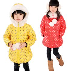 Find More Down & Parkas Information about Girls Princess Winter Down Jacket Children Fur Collar Polka Dots Down Coat Kids Girl Outwear Clothing Free Drop Ship Wholesale,High Quality clothing hanger,China clothing catalog Suppliers, Cheap clothing winter from Treehouse on Aliexpress.com