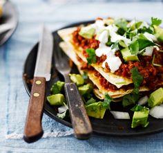 Chili con Carne Tortillas. Food & Style Kati Pohja, Photo Sami Repo. Me Naiset magazine 2014