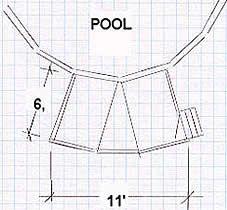 Free Above Ground Pool Deck Plan Swimming Pool Decks, My Pool, Swimming Pool Designs, Beach Pool, Pool Fun, Above Ground Pool Decks, Above Ground Swimming Pools, In Ground Pools, Pool Deck Plans