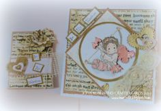 ***NEW LISTING*** - 19/02/14  Be My Valentine  OOAK Handmade Card and tag by IonaRose on Etsy, £3.99