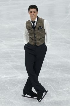 ISU Grand Prix of Figure Skating NHK Trophy - Day 2 Javier Fernandez - I love his Chaplin program