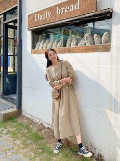 Modest Outfits, Modest Fashion, Kpop Fashion, Korean Fashion, Korean Dress, Korean Style, Cool Pictures, Asian, Elegant