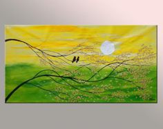 Large Oil Painting Large Painting Oil Painting Love by Topart007