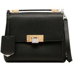 Balenciaga Le Dix Soft Mini Cartable (35,605 MXN) ❤ liked on Polyvore featuring bags, handbags, purses, handbags purses, balenciaga handbags, mini purse, mini crossbody and green purse