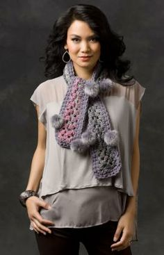 Grey Shadows Scarf