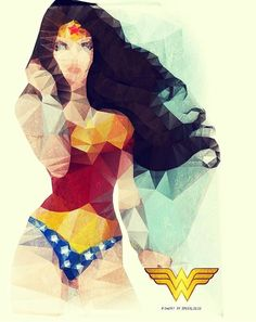 DC Comics Wonder Woman - Totes out of character DC pin (aside from my usual Batman love). But I'm becoming a bit of a WW fan and this is cool. Wonder Woman Kunst, Wonder Woman Art, Superman Wonder Woman, Wonder Women, Marvel Dc, Marvel Room, Illustration Mode, Illustrations, Comic Books Art