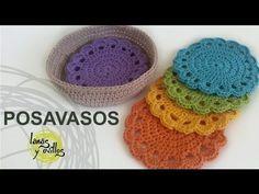 Tutorial Posavasos Crochet o Ganchillo (Coasters), My Crafts and DIY Projects