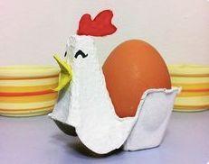 How to Make an Easter Chicken Egg Holder (DIY Tutorial) Kids Crafts, Easy Easter Crafts, Diy And Crafts, Arts And Crafts, Paper Crafts, Egg Crafts, Bunny Crafts, Spring Crafts, Holiday Crafts