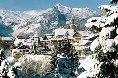 Les Contamines Montjoie in the French Alps. First ever ski trip.