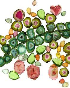 Tourmaline, in its' many colored hues  Cheryl Kremkow via Diane Kirby onto Tourmaline