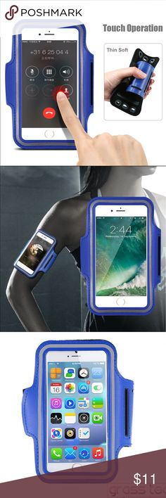 iPhone 7+/6+ Universal waterproof sport armband iPhone 7+/6+ Universal waterproof sport armband Stylish and convenient Universal Professional Sports Armband for running, fitness, cycling and all sports activities compatible for Apple iPhone 7 Plus, 6 Plus and 6s Plus, 5.5 inch.  Waterproof, sweat-proof and high quality.  Fast shipping  Ocean Blue Accessories