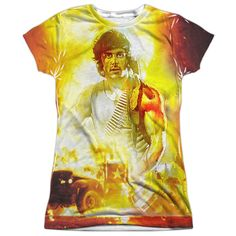 """Checkout our #LicensedGear products FREE SHIPPING + 10% OFF Coupon Code """"Official"""" Rambo:first Blood/one War-s/s Junior Poly T- Shirt - Rambo:first Blood/one War-s/s Junior Poly T- Shirt - Price: $24.99. Buy now at https://officiallylicensedgear.com/rambo-first-blood-one-war-s-s-junior-poly-t-shirt-licensed"""