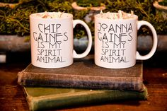 11 oz. ceramic coffee mug, white only.  -Handmade in the heart of our home.  -Dishwasher & Microwave Safe. These designs are not vinyl and will