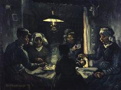 'The potato eaters'  'Los comedores de patatas' (1885), una de las obras que se exhibirán en las dos exposiciones que el museo organiza para presentar su colección permanente en todo su esplendor (Vincent van Gogh