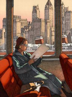 Passé féminin • Miles haman, New York reading
