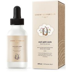 Grow Gorgeous Online Only End Split Ends Leave-In Serum
