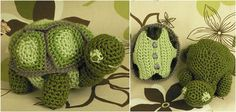 Little Turtles for Fans of Crocheting [Free Pattern]