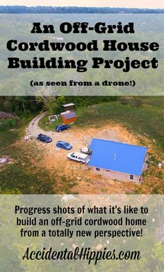 Check out what it looks like to build on an off grid property through the eyes…