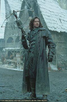 Hugh Jackman as Gabriel Van Helsing in Van Helsing - 2004