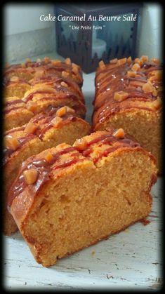 Cake Caramel Au Beurre Salé - See Tutorial and Ideas Köstliche Desserts, Delicious Desserts, Dessert Recipes, Bolo Fondant, Salty Cake, Pound Cake Recipes, Bread Recipes, Salted Butter, Food Cakes