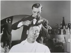 Image result for buster keaton barber