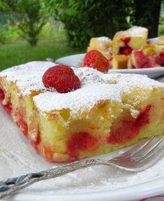 Szybkie ciasto z truskawkami (na maślance) | sio-smutki! Monika od kuchni