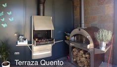 Terraza Quento, con horno y barbacoa