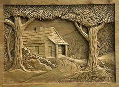 Dremel Wood Carving, Wood Carving Art, Wood Carving Designs, Wood Carving Patterns, Carved Wood Wall Art, Wood Art, Whittling Wood, Mural Art, Wood Sculpture