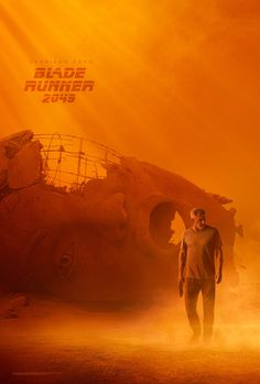 """You know his past. Discover his future. #BladeRunner2049""  = WHAT AN  A M A Z I N G FILM!!!!!!!"