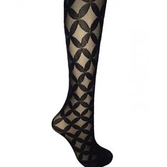 Retro Patterned Tights