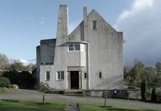 Charles Rennie Mackintosh | Hill House | Helensburgh, Escocia | 1904-1905